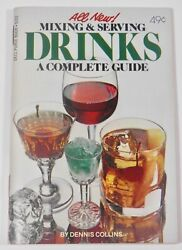 MIXING AND SERVING DRINKS A COMPLETE GUIDE DELL PURSE BOOK #5701 (1978)