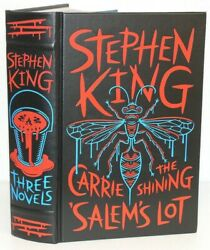 Stephen King Book Collection Salems Lot Hardcover Carrie The Shinning Omnibus