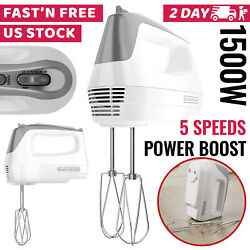 Hand Mixer Electric Hand Held Mixer Whisk Beater Blender Kichen Cooking
