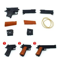 Classic Assembly Rubber Band Gun Shooter Shooting Kids Children Toys Portable $3.19