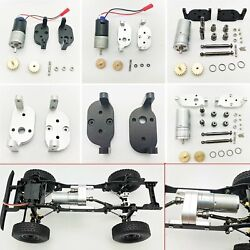 Upgrade Motor Reverse Transmission Gearbox Kit for 1 16 WPL C14 C24 C34 MN D90 $42.28