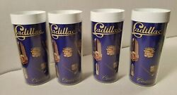 6 Vintage Cadillac 1970's HotCold Thermo-Serv Cups Made in U.S.A.