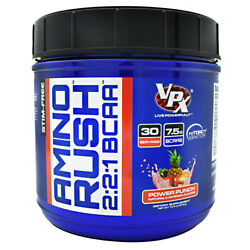 VPX AMINO RUSH Strength Power Recovery Muscle BCAA - 30 Servings Power Punch