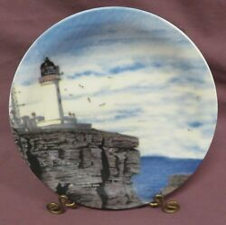 DESIGNSPIRATIONS LIGHTHOUSE ROCK COLLECTOR PLATE $8.00