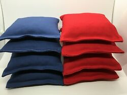 MADE IN USA  Set of 8 Cornhole Bags Regulation Size  20 Colors  Corn Filled $21.85
