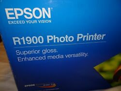 EPSON R1900 PHOTO PRINTER  NEW !!  NEVER OPENED