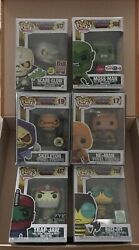 FUNKO Pop MOTU Skeletor 19 2013 SDCC Exclusive+ He-Man 17 + lot of 4