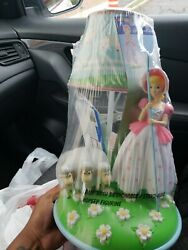 Toy Story 4 Bo Peep & Sheep Table Lamp Desk Light Collectible Figure Doll 2019 $64.99