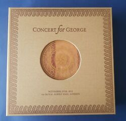 Concert for George Harrison 2002 Albert Hall deluxe box set 4 LP numbered DVD CD