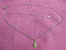 A C CO. STERLING CHAIN AND STERLING CHARM VINTAGE