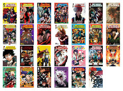 My Hero Academia Vols. 1-21 English Manga Collection Series Set Paperback - NEW