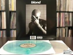 Frank Ocean – Blond Black Cover Vinyl LP Colored Red Blue Yellow