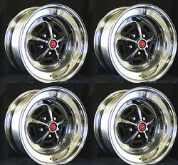 New! Magnum 500 Wheels Set of 4 15x7 Set Complete with red caps and lug nuts  $799.99