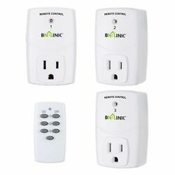 Mini Wireless Remote Control Outlet Switch Power Plug In for Household Appliance