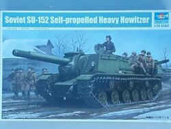 Trumpeter Soviet SU-152 Self Propelled Howitzer Early 135 scale