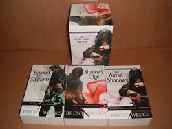 The Night Angel Trilogy by Brent Weeks Paperback NEW