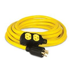 25 ft. 240 volt generator power cord champion equipment each outdoor flexible $85.99