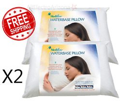 Mediflow Fiber The First & Original Water Pillow clinically Twin Pack *NEW*
