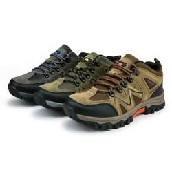 Men#x27;s Hiking Shoes Outdoor Trail Trekking Sneakers Breathable Climbing Shoes $45.99