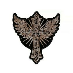 (B15) CHRISTIAN CROSS with WINGS 4