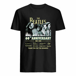 The Beatles 60th Anniversary 1960-2020 Thak You for The Memories Signature Shirt