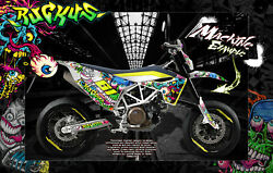HUSQVARNA 701 SUPERMOTO  ENDURO GRAPHICS WRAP 'RUCKUS' DECAL KIT