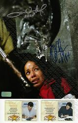 8x10 SIGNED AUTOGRAPHED PHOTO ALEC GILLIS TOM WOODRUFF JR ALIEN vs PREDATOR COA