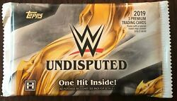 2019 Topps WWE Undisputed Wrestling Hobby Pack - Fresh From Box