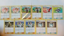 11 Playable Trainer Pokemon Card Lot  POKEGEAR Reset Stamp Great potion ALL NM