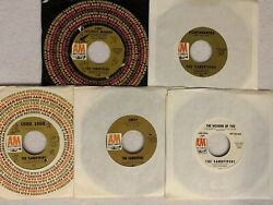 Lot of (5) 45 RPM Records by The Sandpipers