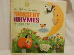 THE SANDPIPERS AND THE GOLDEN ORCHESTRA - NURSERY RHYMES - VINTAGE VINYL LP