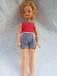 Vintage 1960's Ideal PEPPER Doll Tammy's Sister G9-E + G9-W Body handmade outfit