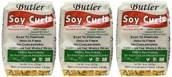 Butler Soy Curls 8 oz. Bags (Pack of 3)