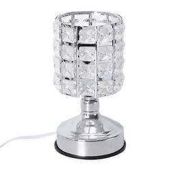Home Room Office Table Decor Gift Stage Touch Dimmer Glass Shape Desk Table Lamp $19.99
