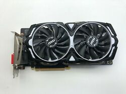 MSI GTX 1060 6GB ARMOR Graphics Card  VR READY!  (2-3 Day Shipping)