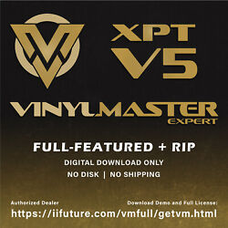 Vinyl Printer-Cutter Plotter VinylMaster XPT Software RIP Print  $698.66