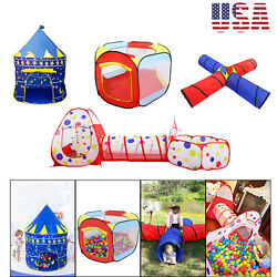 OutdoorIndoor Kids Portable Game Play Toy Tent Children Ocean Ball Pit Pool US