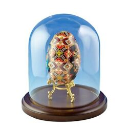 Wooden Base Glass Dome 3 x 4 Inches $18.47