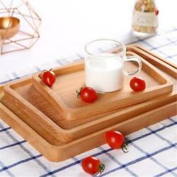 Eating Rectangular Holder Breakfast Butler Bed Tray Kitchen Serving Tray  Q