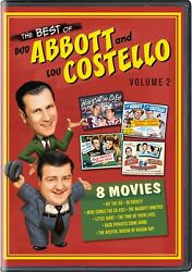 The Best of Bud Abbott and Lou Costello Volume 2 DVD  NEW $13.47