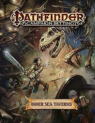 Pathfinder Campaign Setting: Inner Sea Taverns by Staff Paizo in Used - Like N