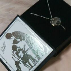 Black Butler Exhibition Original Necklace Black Rare Limited 100 From JAPAN