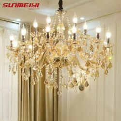 Modern LED Crystal Chandeliers home Light Decoration Luxury Candle Pendant lamp