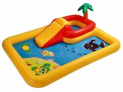 Intex Ocean Play Center Kids Inflatable Wading Pool - Used