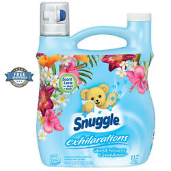 Exotic Liquid Fabric Softener Hibiscus & Rainflower Snuggle Exhilarations 96 oz