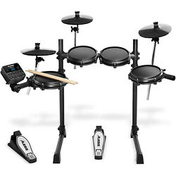 Alesis Turbo Mesh Kit Seven Piece Electronic Drum Set With Mesh Heads $299.00