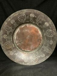 Antique Turkish Dish Plate Serving Tray