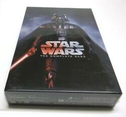 Star Wars: Complete Saga Episodes 1-6 Movie Box Set (DVD Region 1) Brand NEW