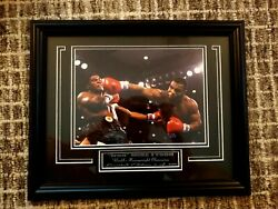 Mike Tyson #x27;Youngest Heavyweight Champion Spot Colour Photo $32.99