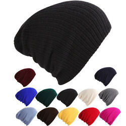 Winter Hats for Woman Men Beanies Knitted Solid Hat Girls Autumn Beanie Caps Men $3.75